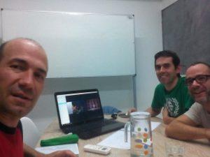 Reunión de trabajo de los socios de Proyecto JAK en nuestra sede de Madrid.