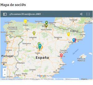 Mapa socios